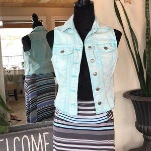 Silver Jeans Jean Aqua Vest